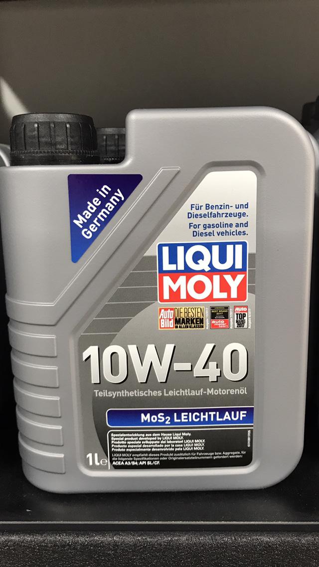 oli Liqui Moly 10W-40