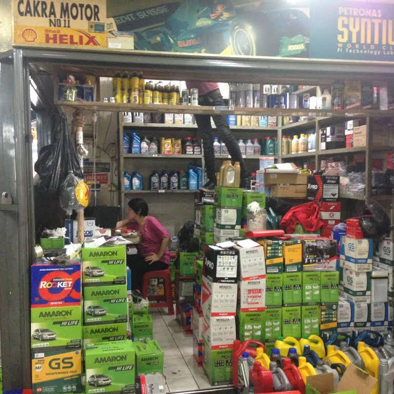 toko oli mobil Jakarta Selatan