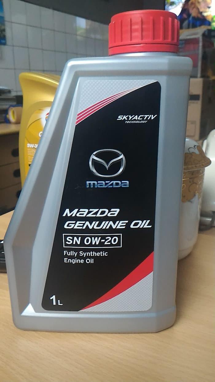 oli mobil Mazda