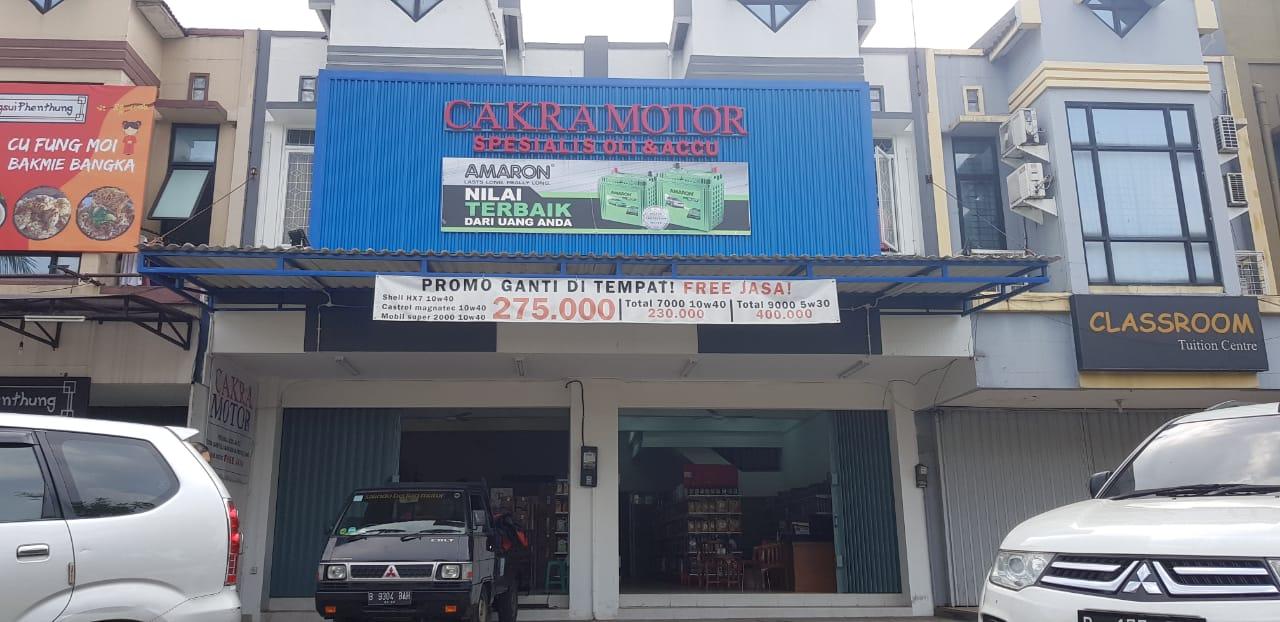 Toko Oli Mobil Tangerang