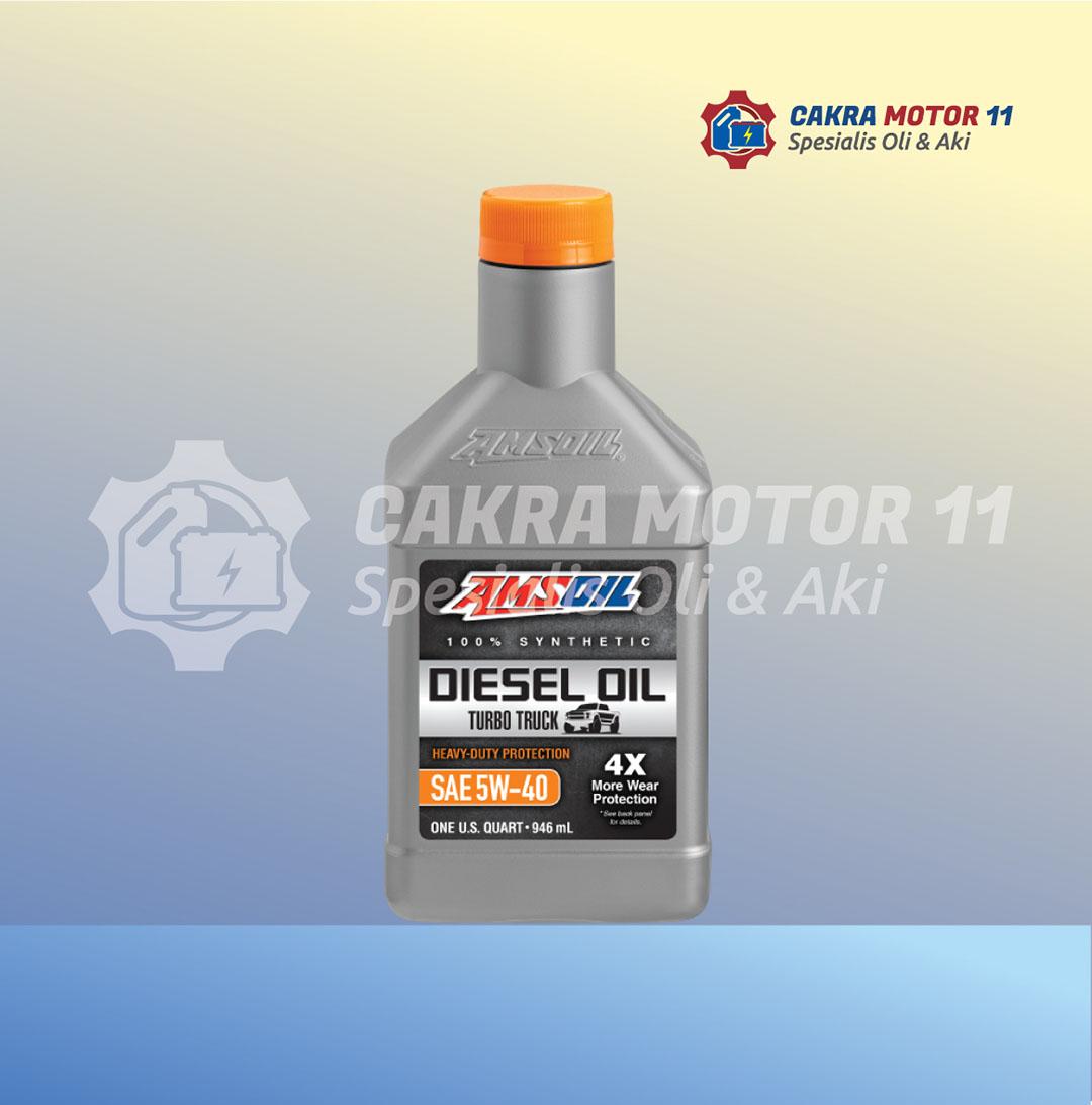 amsoil diesel oil turbo truck 5w40