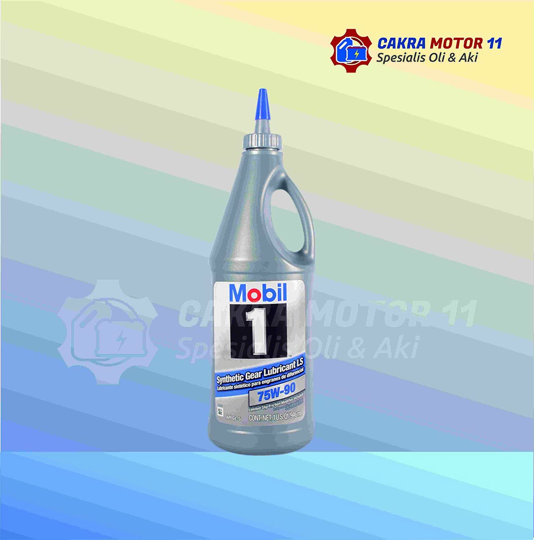 mobil 1 synthetic gear ls 75w90
