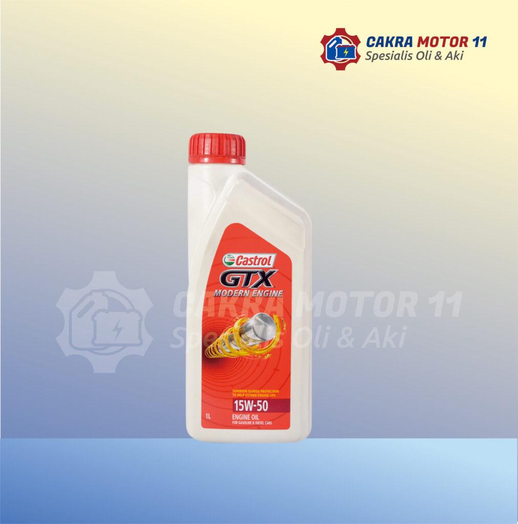 Castrol GTX 15W50