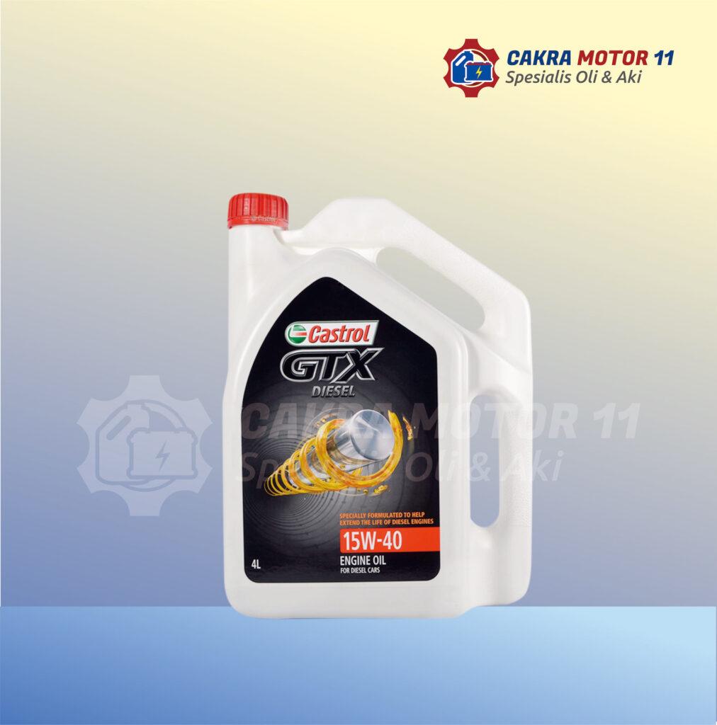 Castrol GTX Diesel 15W40
