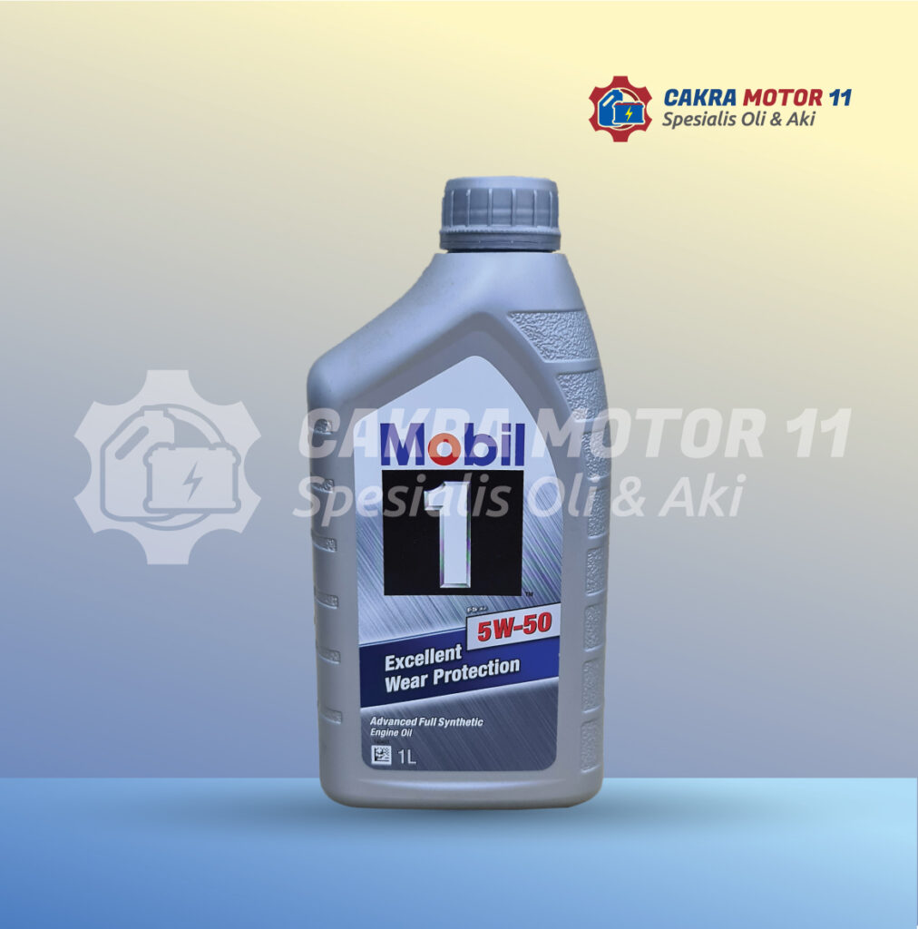 Mobil 1 Excellent Wear Protection 5W50