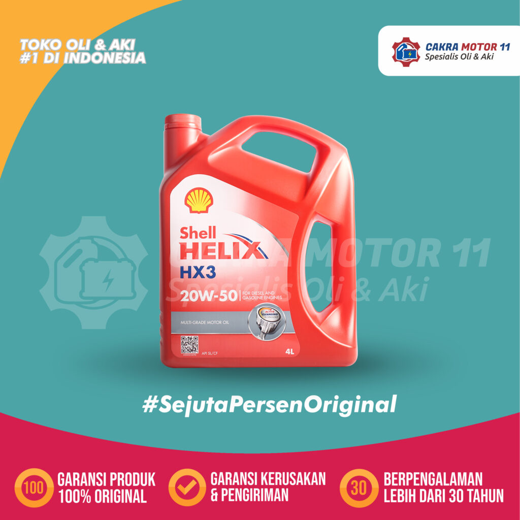 Keunggulan Shell Helix HX3