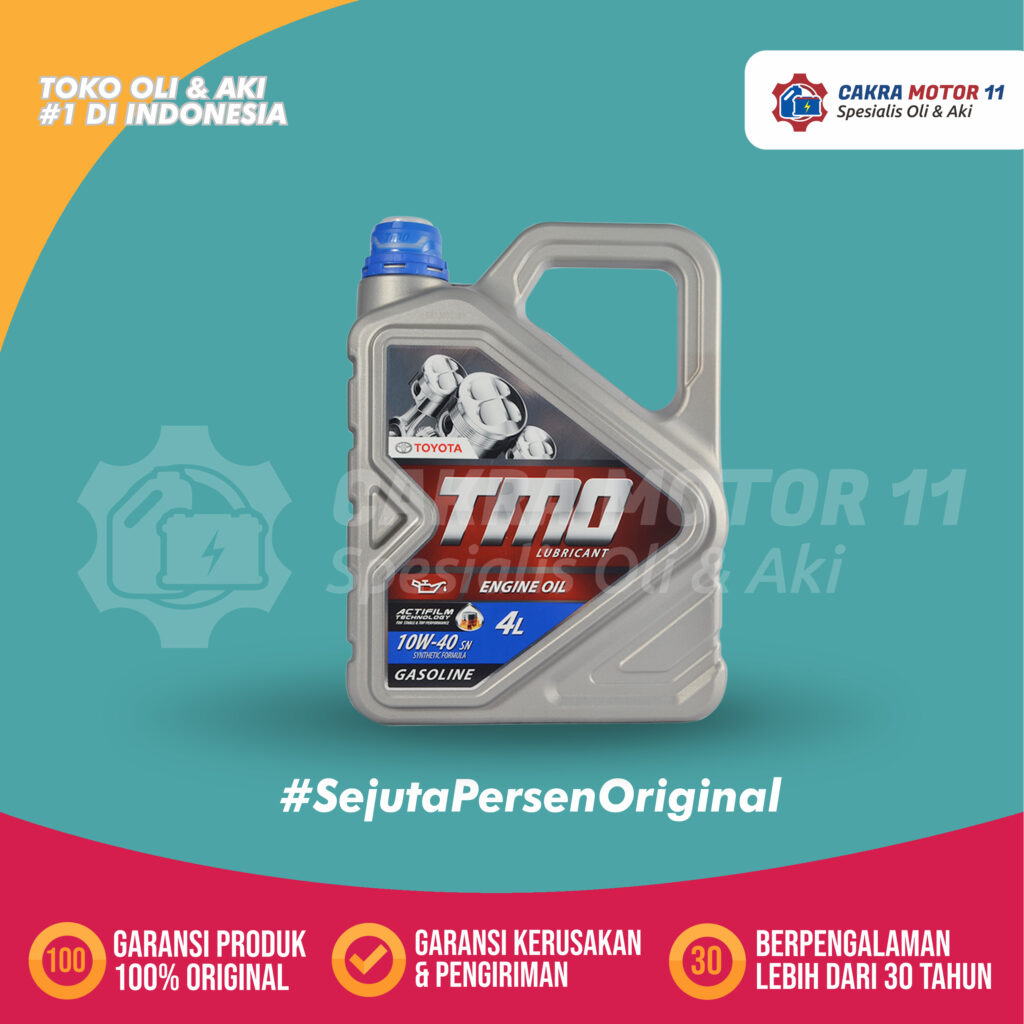 Toyota Motor Oil Synthetic 10W40