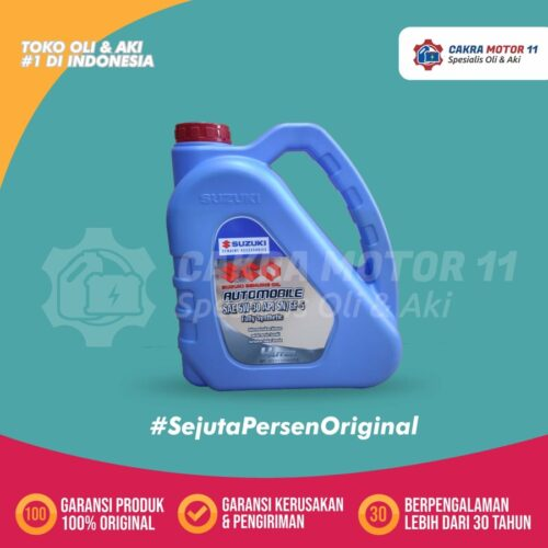 SUZUKI GENUINE OIL FULL SYNTHETIC 5W30 4LT