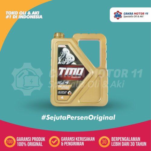 TOYOTA MOTOR OIL FULL SYNTHETIC 0W20 4LT