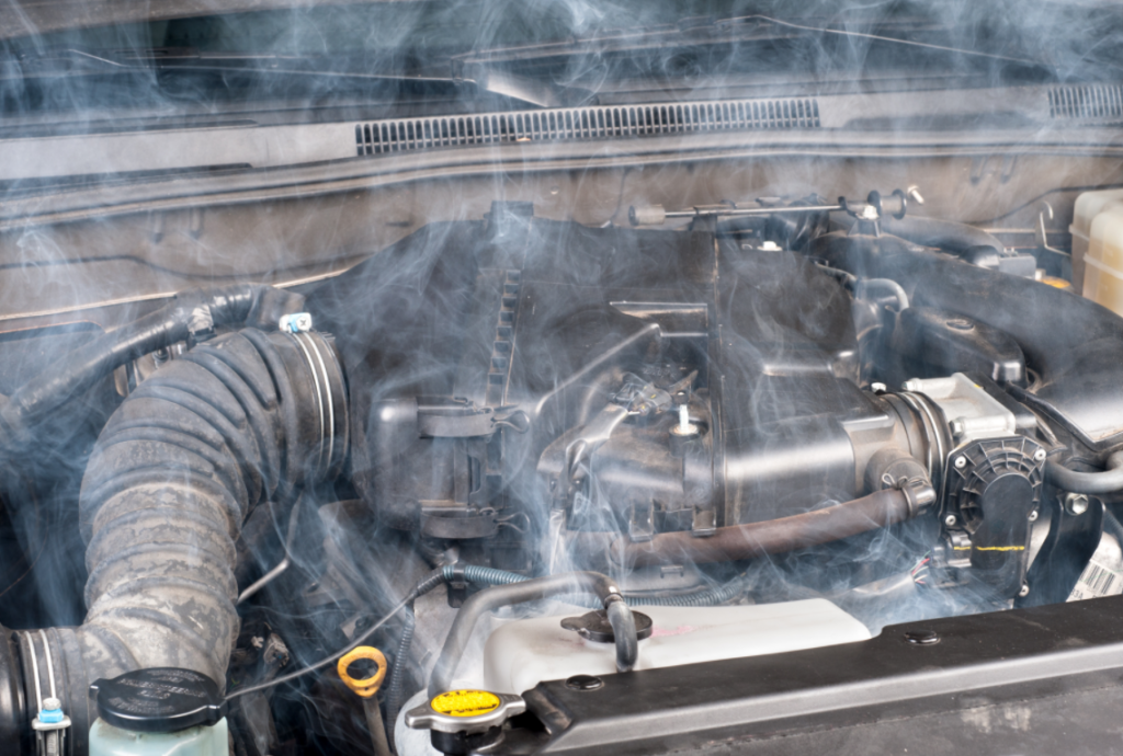 mesin mobil overheat